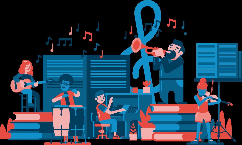 Illustration de Mamie Note : un groupe de musique